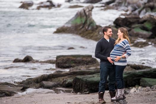 Maine Coast Maternity Photography