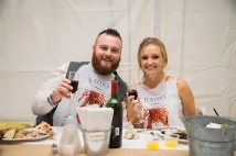 paradis photography maine wedding photographer reception fosters clambake lobster