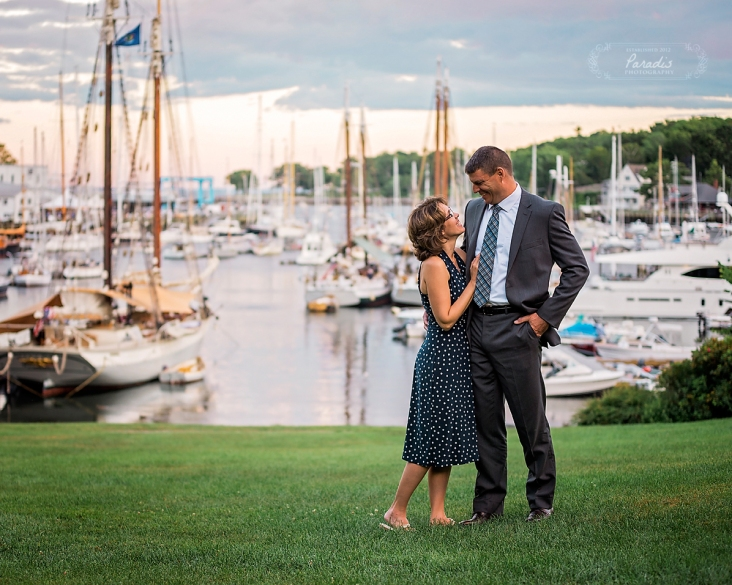 camden maine wedding photographer anniversary engagement paradis photography