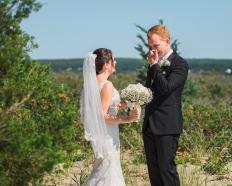 paradis photography new england wedding photographer beach wedding first look