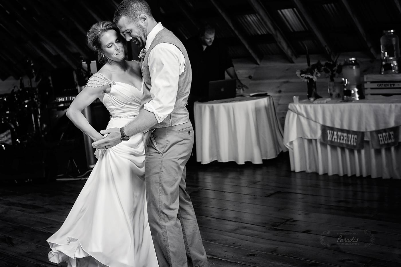 paradis photography maine wedding photographer saco bride groom first dance