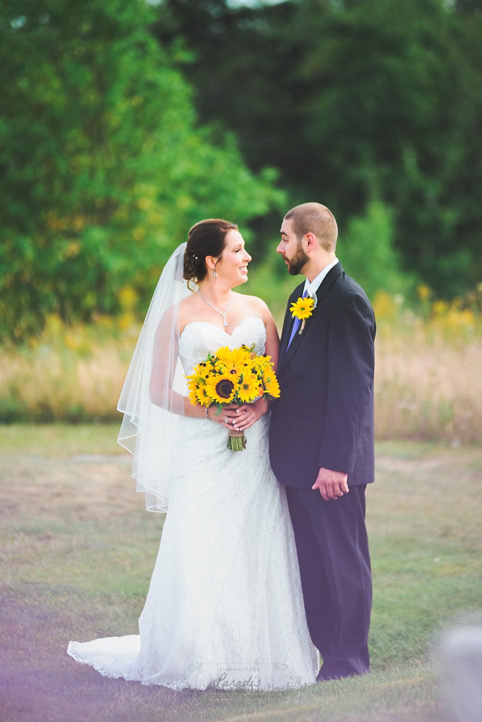 Just Married | Paradis Photography #MaineWeddingPhotographer