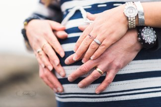 Maternity session by the sea Paradis Photography