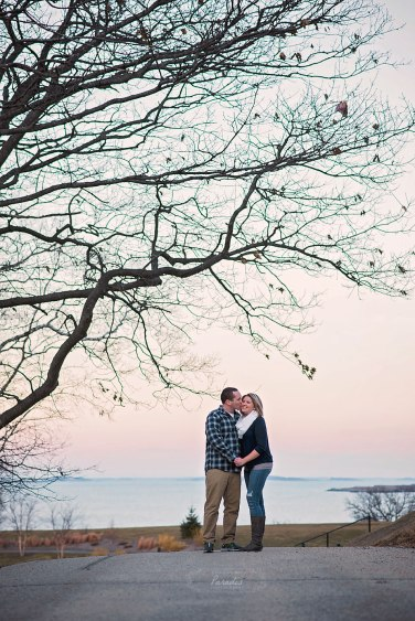 portland headlight maine engagement destination photographer