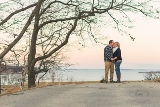 portland headlight maine engagement photographer
