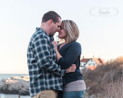 portland headlight maine engagement photographer