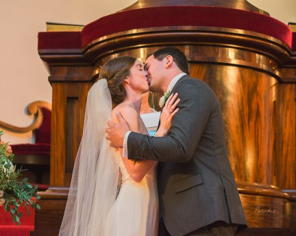 First Parish Portland Maine Wedding Ceremony