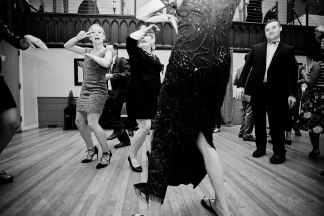 Maine wedding photographer Wedding dancing Grace Restaurant Maine Paradis Photography
