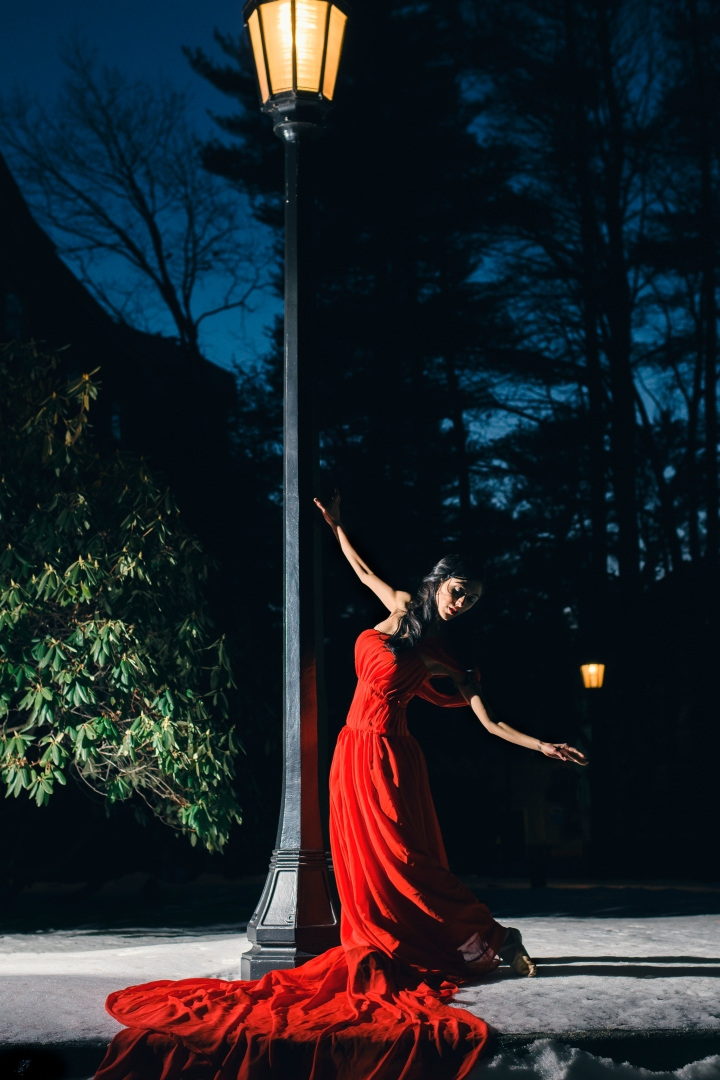 Red Dress Dancer | Paradis Photography