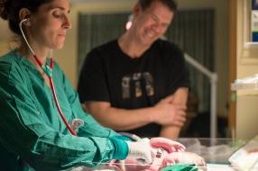 Maine Birth Photographer | Proud Dad Paradis Photography