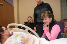 Maine Birth Photographer   Happy family