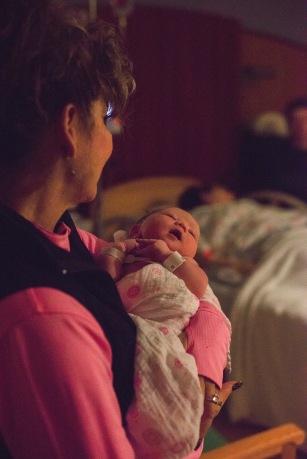 Maine Birth Photographer | Snuggles with Gram Paradis Photography