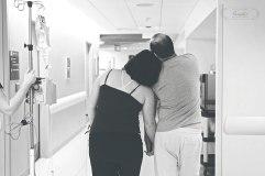 Walking during labor | Maine Birth Photographer Paradis Photography
