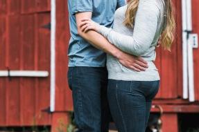 Maine Barn Engagement | Paradis Photography New England Wedding Photographer