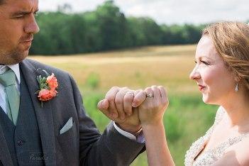 maine wedding photographer, pinkies, promise, wedding day