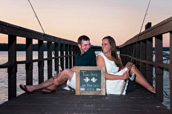 Fishing Engagement | Paradis Photography