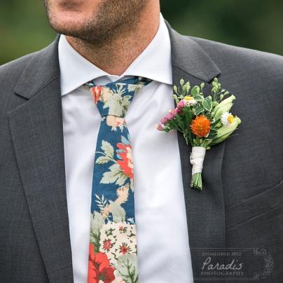 groom, tie, bouttonniere, maine wedding photographer