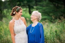 maine wedding, maine wedding photographer, bride, guest, grandma