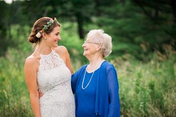 maine wedding, maine wedding photographer, bride, guest, grandma