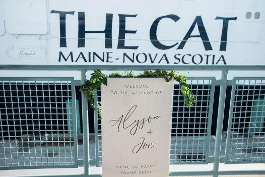 Ocean Gateway Wedding ceremony Paradis Photography