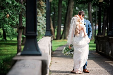 Portland Maine wedding first look deering oaks park paradis photography