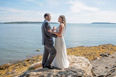 first look, maine wedding, bride, groom, freeport maine, destination wedding photographer
