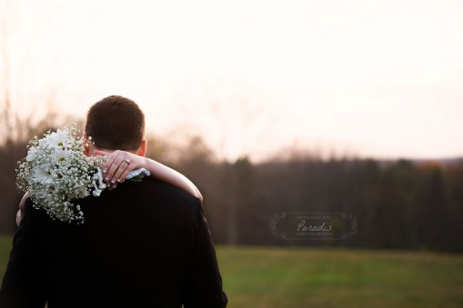 Last Light on their wedding day