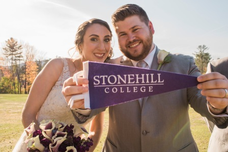 stonehill college maine wedding paradis photography