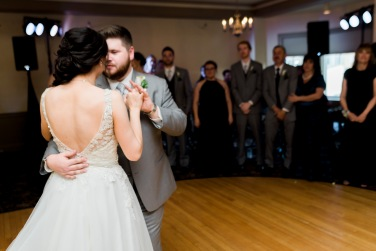 First Dance Reception maine wedding | Paradis Photography