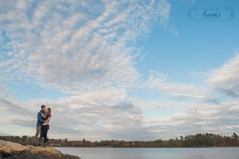 Beautiful Maine Backdrop | Paradis Photography