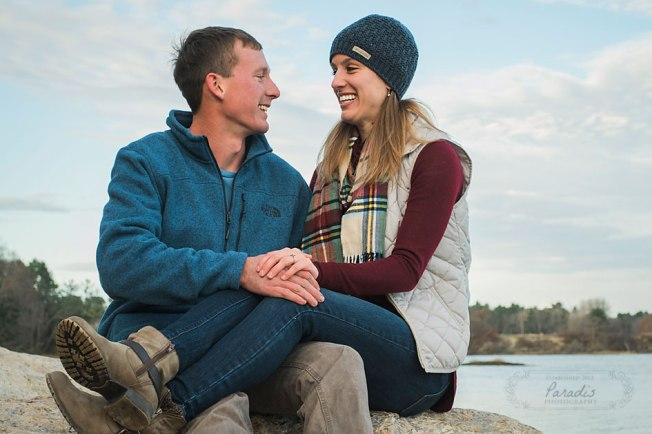 Maine Engagement Photos | Paradis Photography
