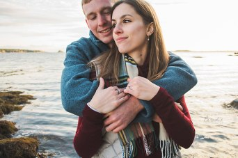 Engaged in Maine | Paradis Photography