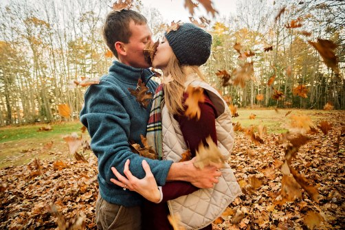 Love in the Leaves | Paradis Photography