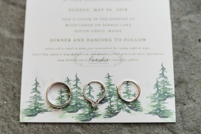 Invitation and rings | Paradis Photography