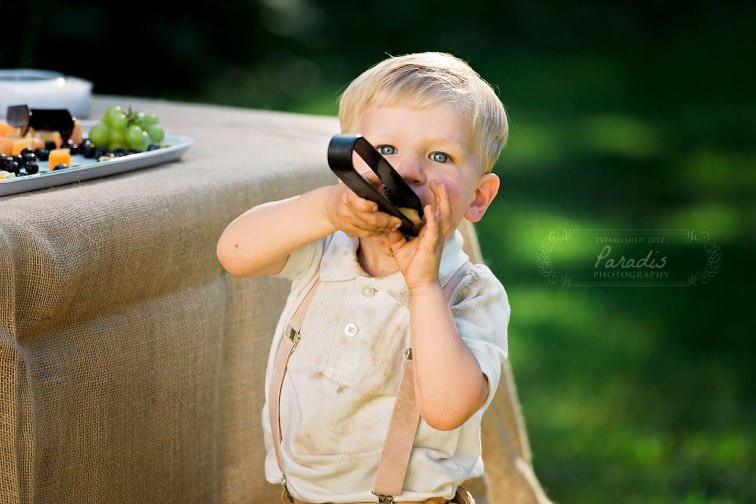 Ring Bearer | Paradis Photography | Coolidge Family Farm
