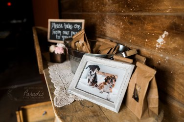 Favors | Paradis Photography | Coolidge Family Farm