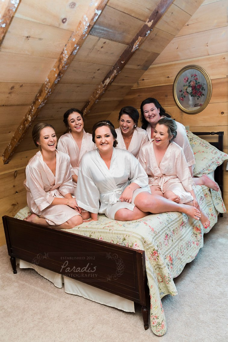 Bridesmaids | Paradis Photography | Coolidge Family Farm