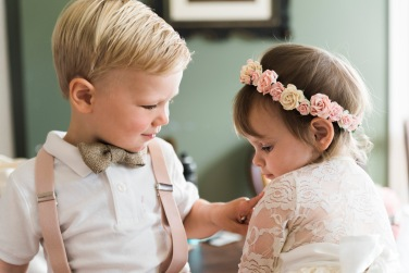 Ring Bearer and Flower Girl | Paradis Photography