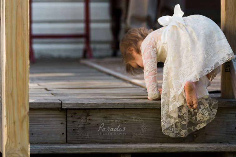 Flower girl feet | Paradis Photography